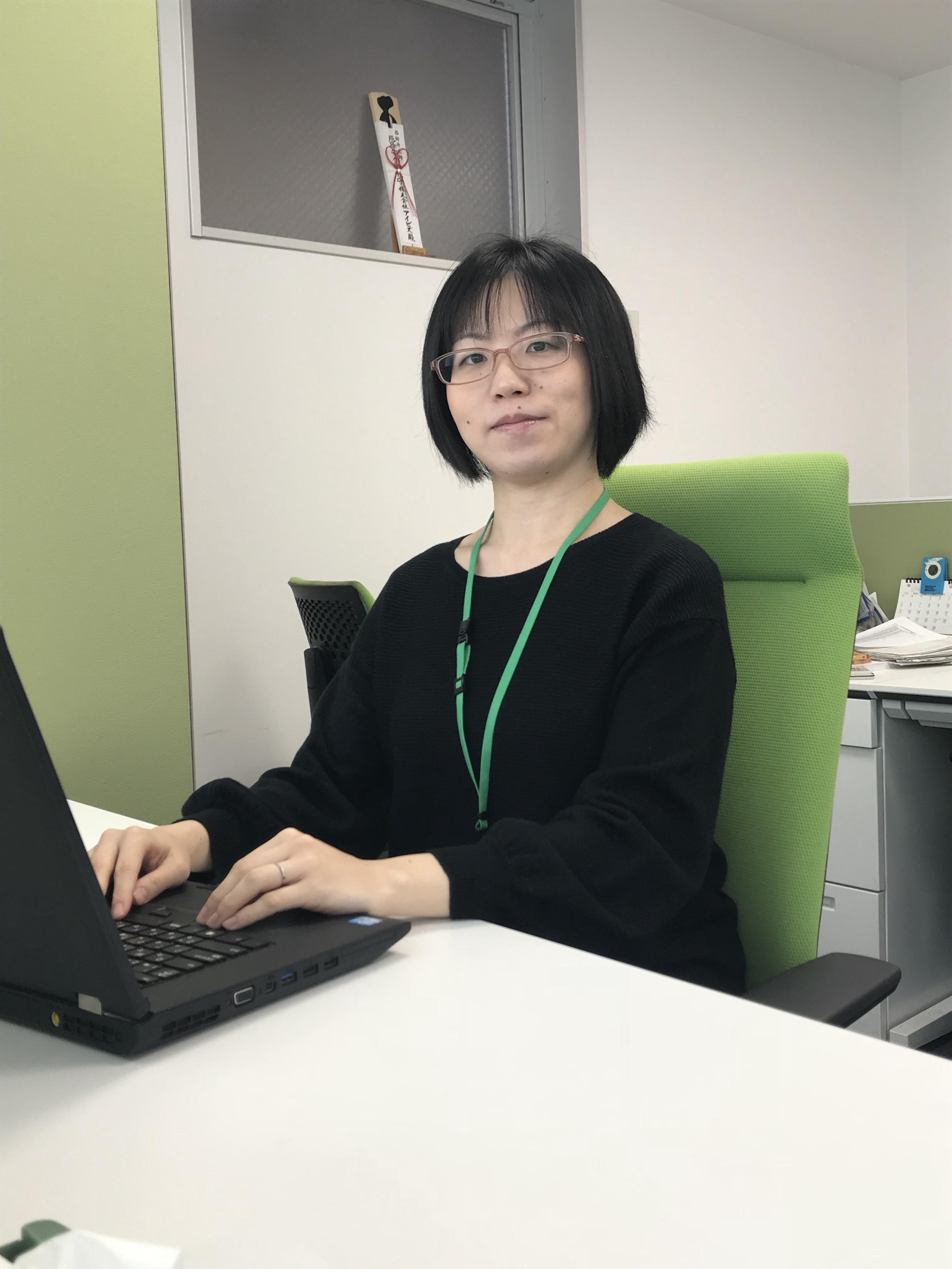 主任 A.Sさん(2009年新卒採用入社 文学部)